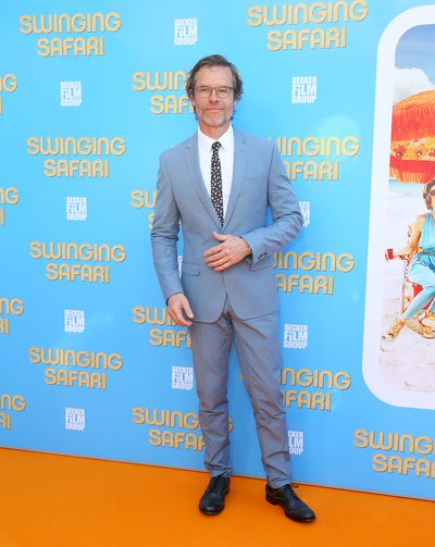 Guy Pearce at the <em>Swinging Safari</em> premiere in Sydney, Australia.&nbsp;