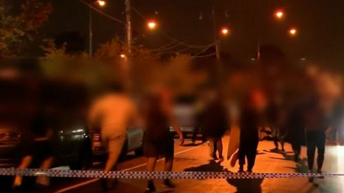 A teenage boy is dead after he was stabbed at Deer Park.