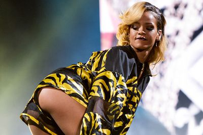 """$43 million<br/><br/>Rihanna wasn't mucking around when she finished 2012 singing """"shine bright like a diamond!"""" She could buy $43 million worth of rocks if she wanted to!"""