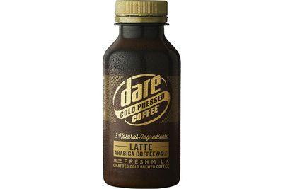 Dare Cold-Pressed Latte: 18.6g sugar per 300ml serve
