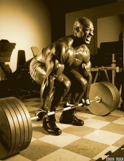 <strong>Ronnie Coleman then...</strong>