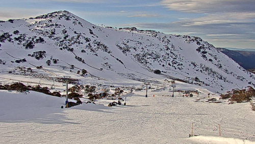 Blue Cow in Perisher is one of many ski locations expected to get a solid amount of snowfall thanks to the cold fronts later this week.