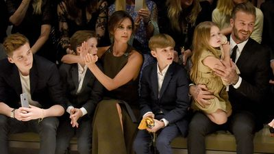 David and Victoria Beckham: Now…