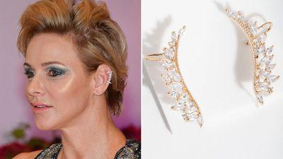 Princess Charlene's ear cuff