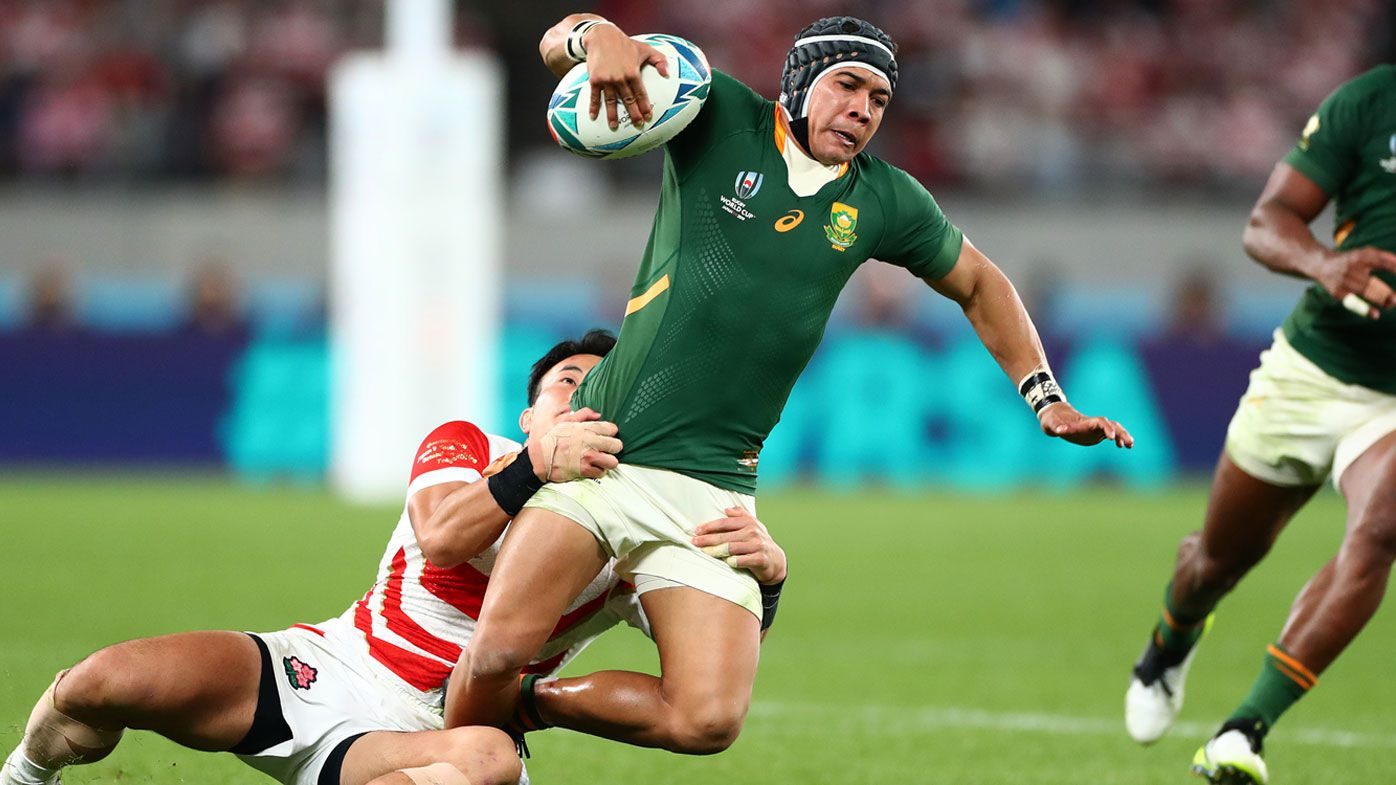 Rugby World Cup: Springboks winger Chselin Kolbe out semi-final blockbuster