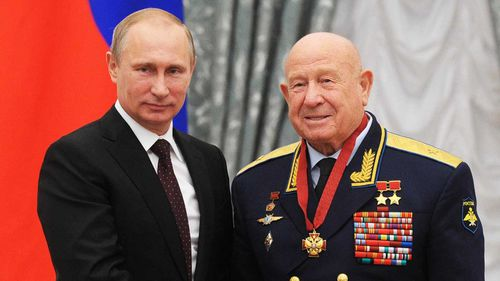 Russian President Vladimir Putin called Alexei Leonov a 'true pioneer'.