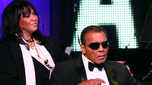 Muhammad Ali in March 2012. (AAP)