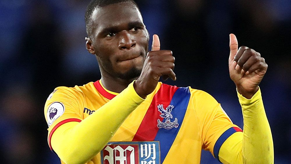 Christian Benteke was the hero for Palace. (AAP)