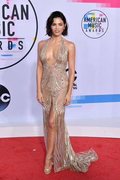 Jenna Dewan Tatum in custom-made Julien Macdonald