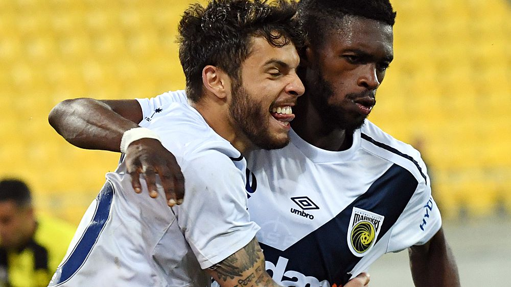 A-League: Central Coast Mariners beat Wellington Phoenix to end winless run