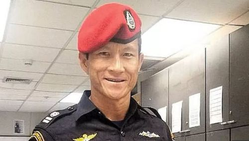 Navy SEAL Saman Gunan died during the operation. Picture: Supplied
