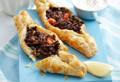 Thursday: Middle Eastern lamb mince pasties