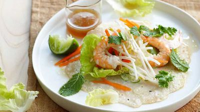 "Recipe:<a href=""http://kitchen.nine.com.au/2016/05/05/16/24/coconut-prawn-crepes"" target=""_top"">Coconut prawn crepes</a>"