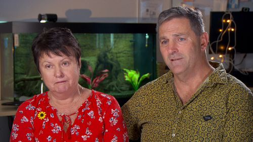Jessica's parents Sandy and Peter spoke about Jessica's inspirational positivity.