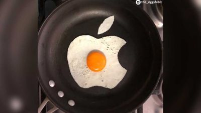 College student's fried egg art reinvents the breakfast staple