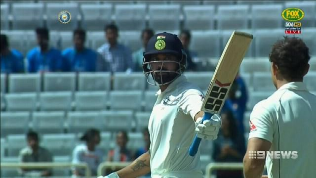 Cummins fires for Aussies, India 6-360