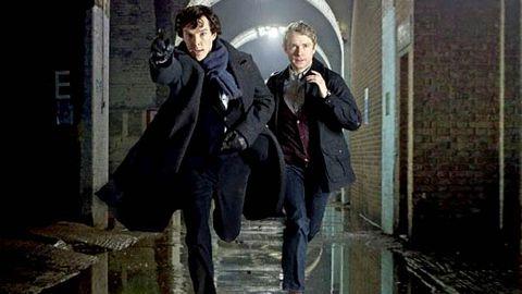 First pics: TV's new Sherlock Holmes