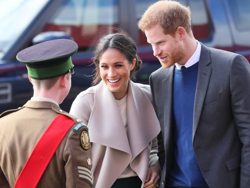Meghan and Harry said the chosen charities which represent a range of issues that they are passionate about. (AAP)
