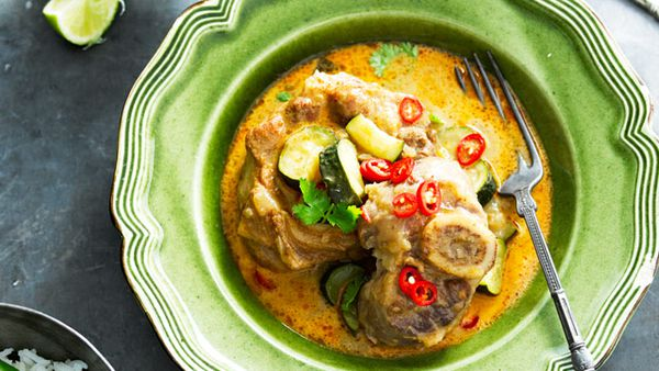 Spicy Asian veal
