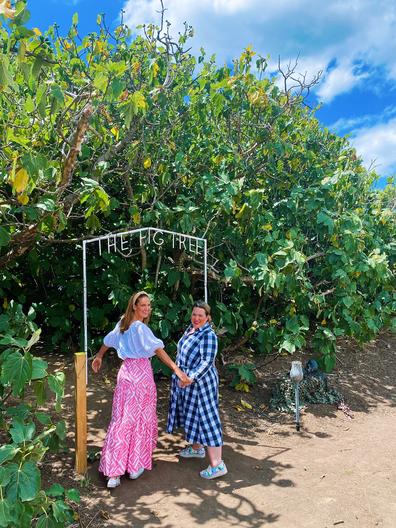Adelady hosts visit the Enchanted Fig Tree dining experience on Kangaroo Island