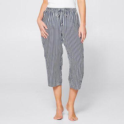 "<a href=""https://www.target.com.au/p/3-4-sleep-pants/60401274"" target=""_blank"">Target 3/4 Sleep Pants in Navy Stripes, $20</a>"