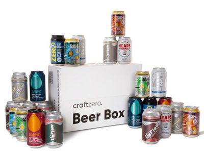 Non-alcoholic beer box
