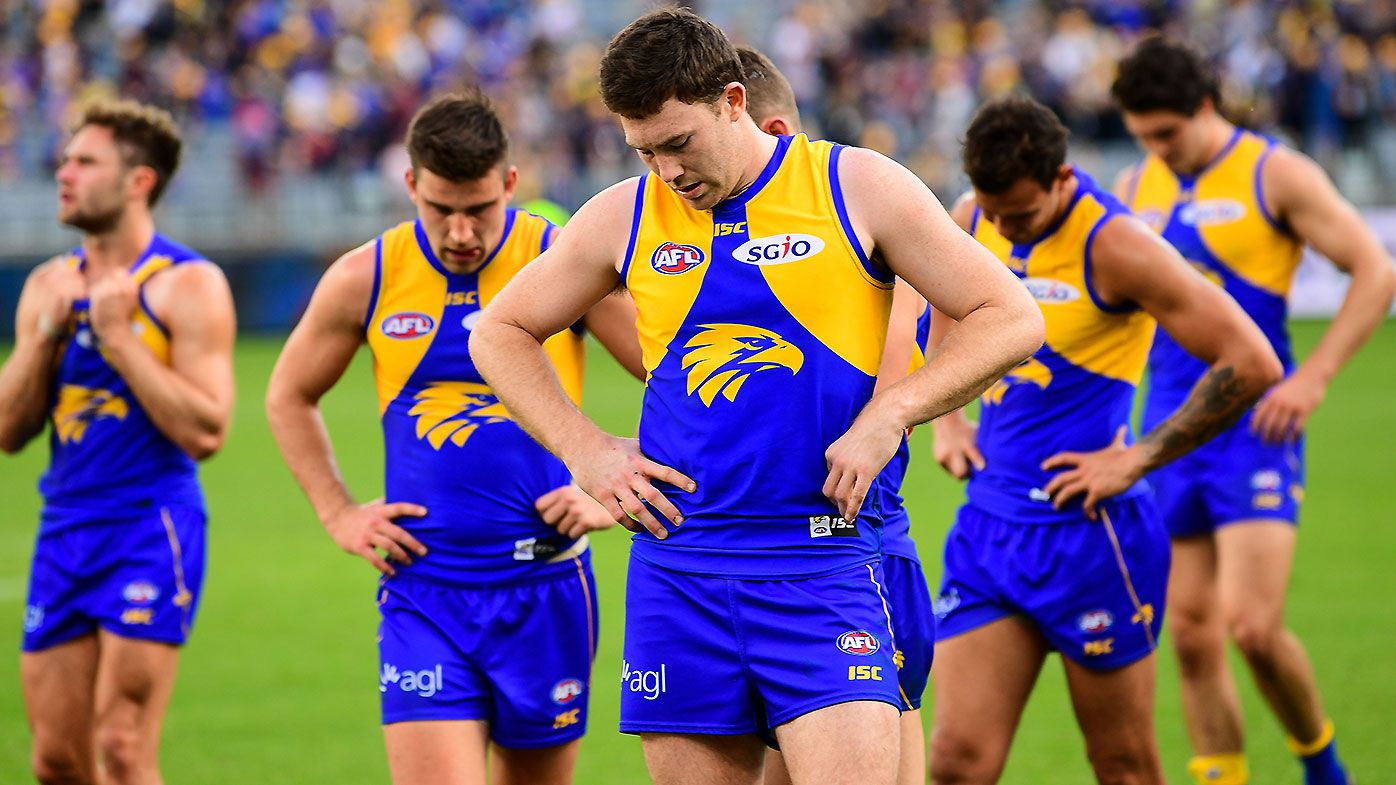 Jeremy McGovern a no-show in West Coast Eagles' first pre-Grand Final training session