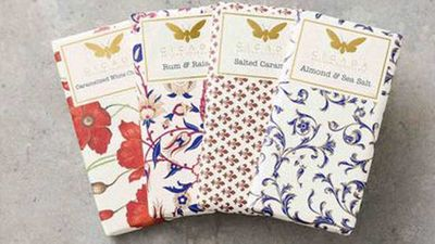 """Cicada selection of 4 specialty flavoured chocolate bars - RRP $28<br /> <a href=""""http://www.cicadachocolate.com/shop-online/specialty-flavoured-bars/"""" target=""""_top"""">Cicada Chocolate</a>"""