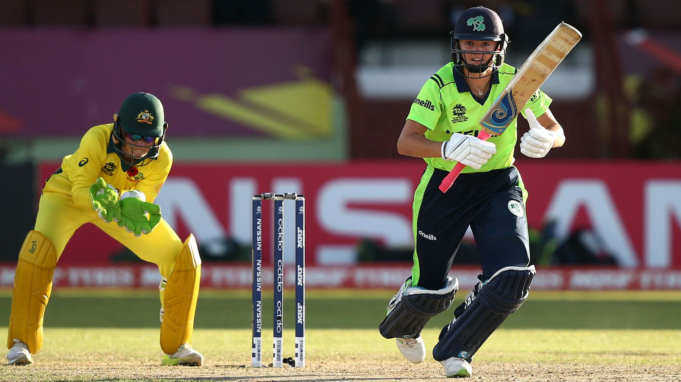 Pakistan penalised 10 runs for running on pitch at Women's World T20, Ireland give up five runs against Australia