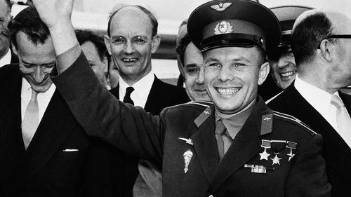 Yuri Gagarin became a beloved international celebrity after his successful trip to space.