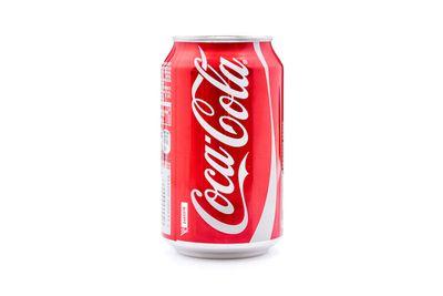 375ml can of Coca-Cola: 675kj/161 calories