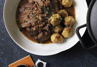 Make Beef, beer and dumplings