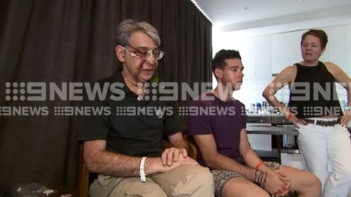 The prominent physician had travelled to Melbourne to watch the Open with his son, Edik.(9NEWS)