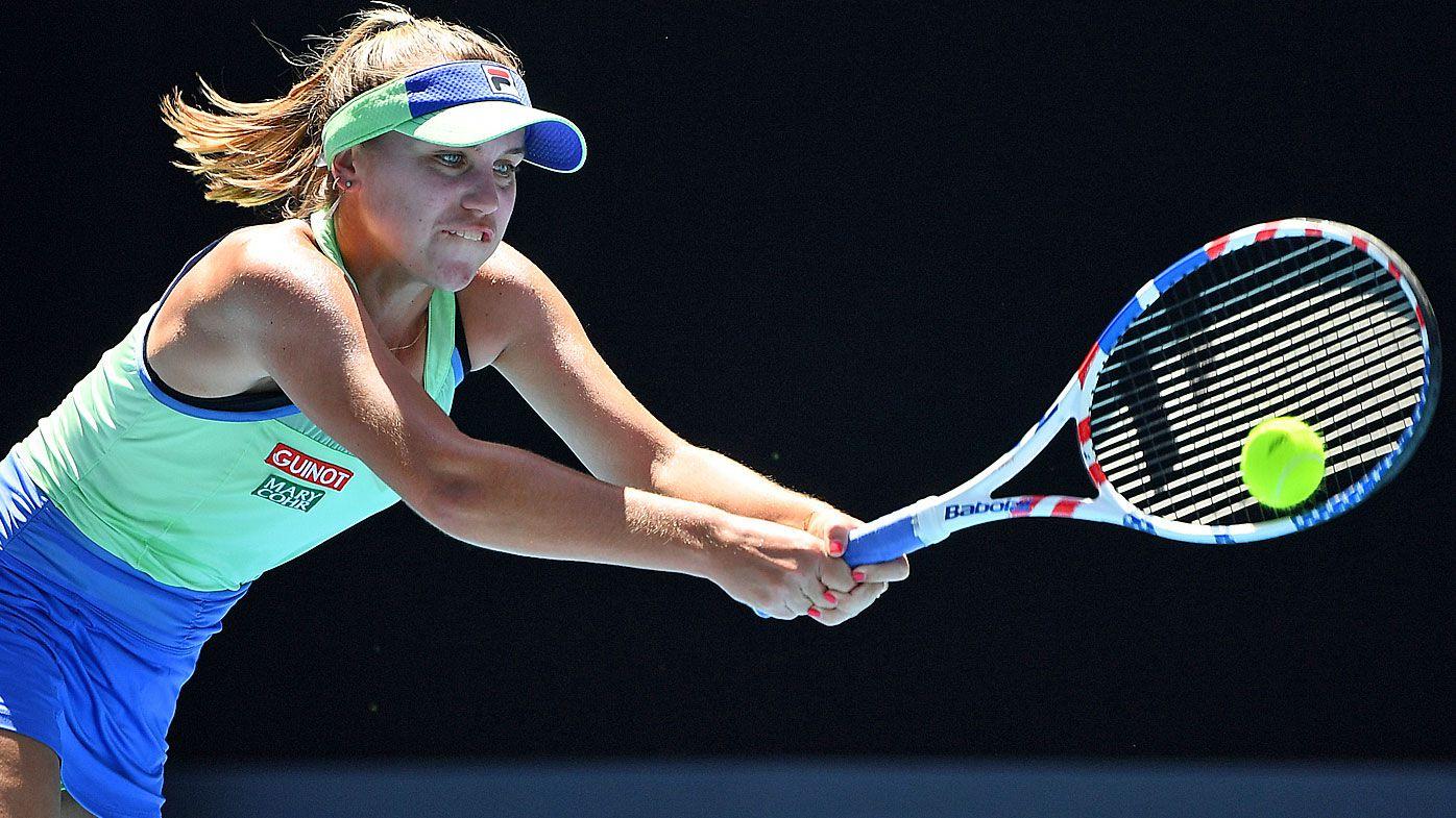 The Sharapova-esque rise of 'smart' underdog Sofia Kenin
