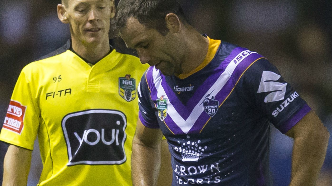 Cameron Smith is sent off