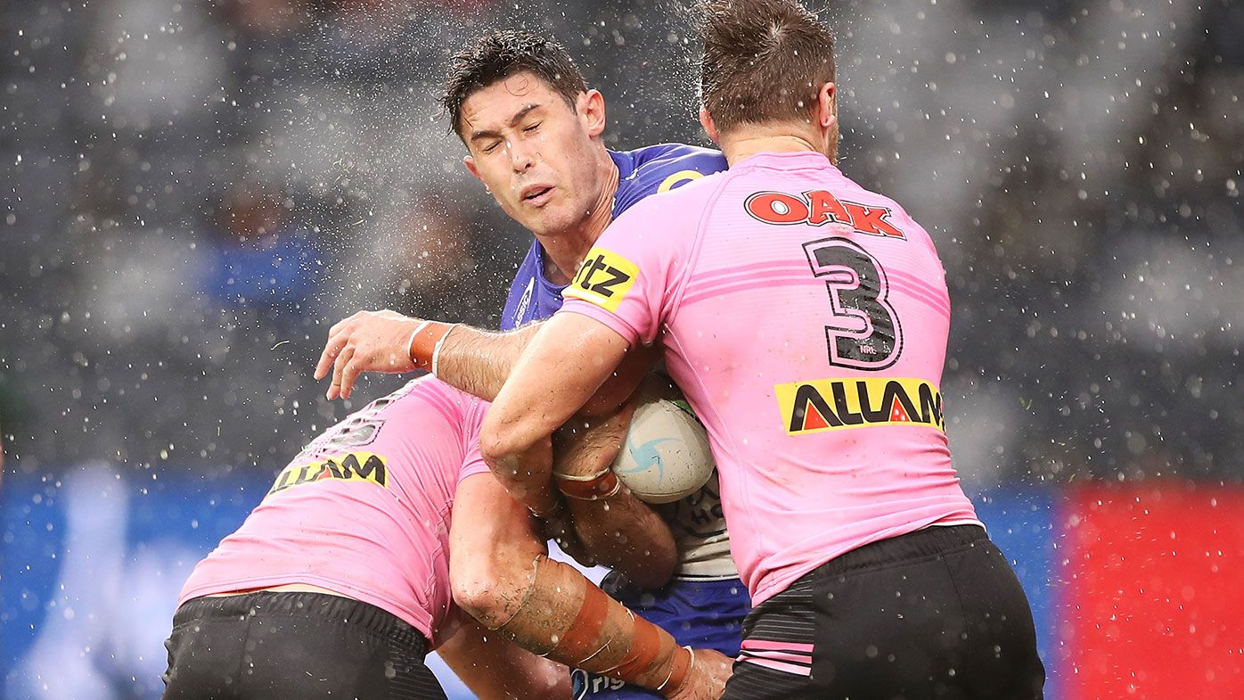 Penrith set incredible NRL record with 28-0 win over Bulldogs at Bankwest Stadium