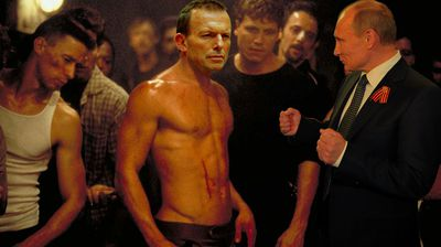 <p>The first rule of <i>Fight Club</i>: don't announce you're going to shirtfront somebody.</p>