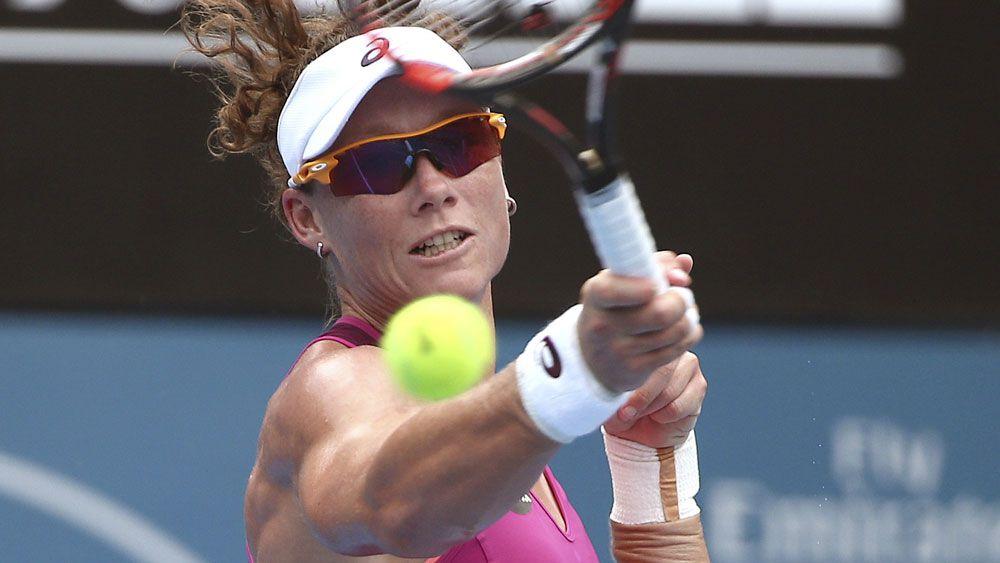 Stosur through to second round in Sydney