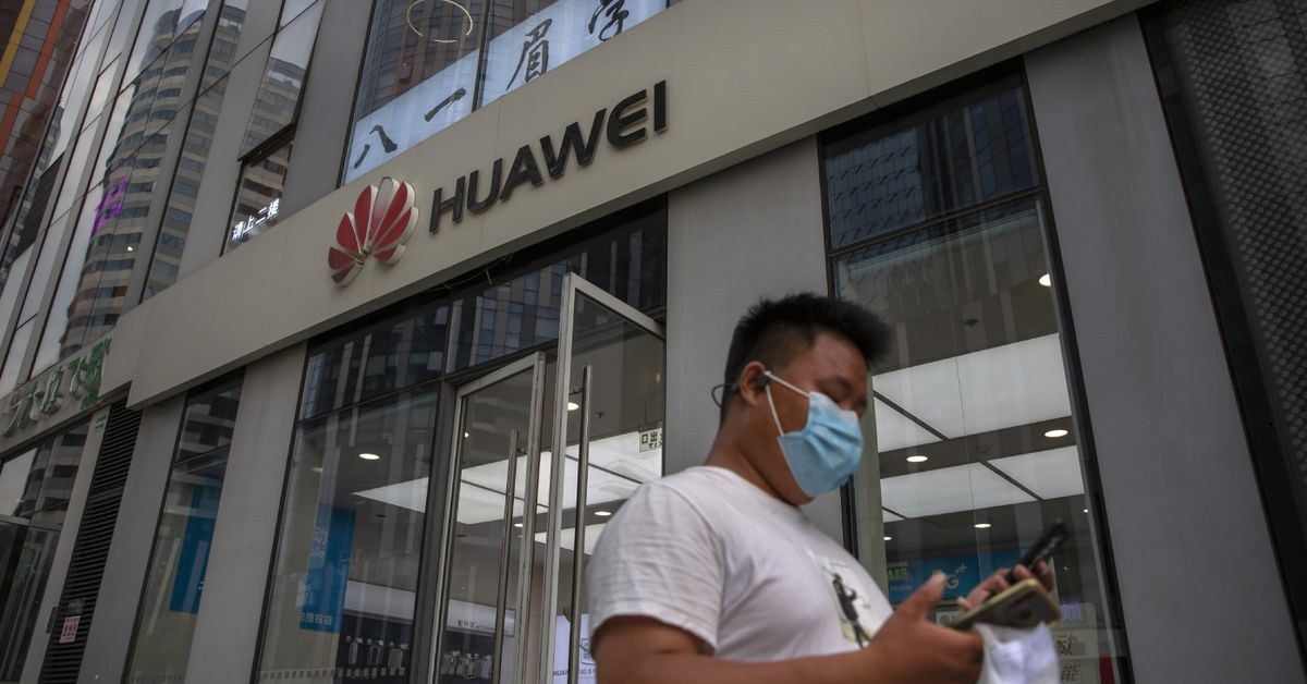 UK to exclude Huawei from role in high-speed phone network – 9News
