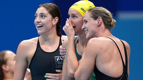 Australia's 4 x 100m women's freestyle relay team