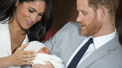 Royal mums: Meghan Markle, Duchess of Sussex