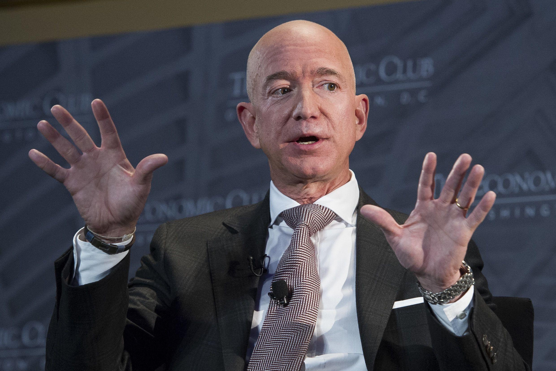 Business News Amazon Boss Jeff Bezos In 190 Billion Divorce