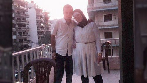 Mohamed Naddaf claims he found his wife injured and nursed her for five days before she died.