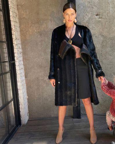 Irina Shayk shares photo with her daughter Lea.