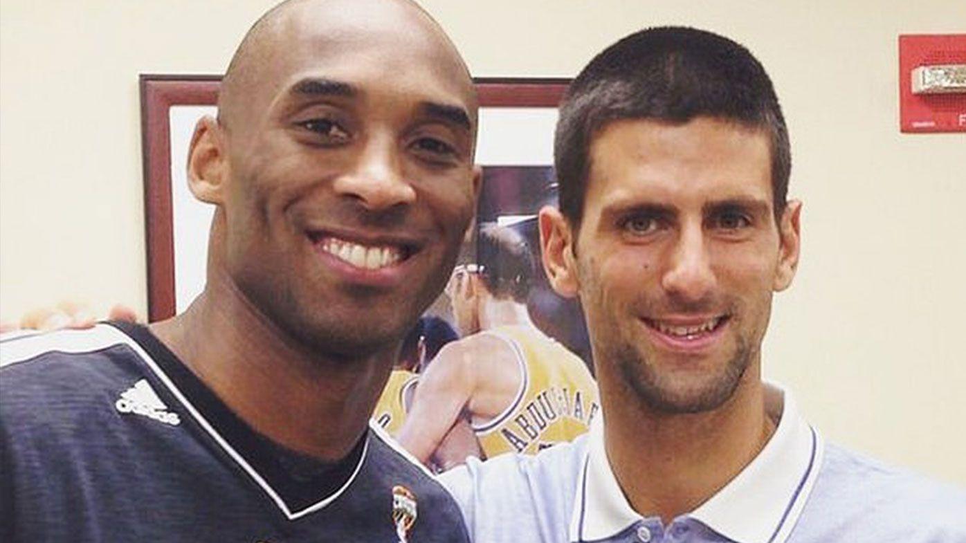 Tennis world pays tribute to Kobe Bryant, Novak Djokovic's stirring gesture