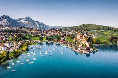 (Tied) 6. Switzerland