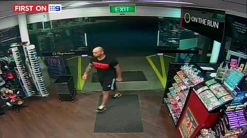 The gang was later spotted at a Paralowie service station. (9NEWS)
