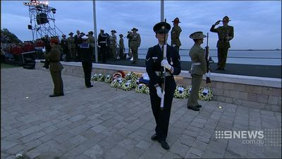 International officials were among the thousands at Gallipoli. (9NEWS)