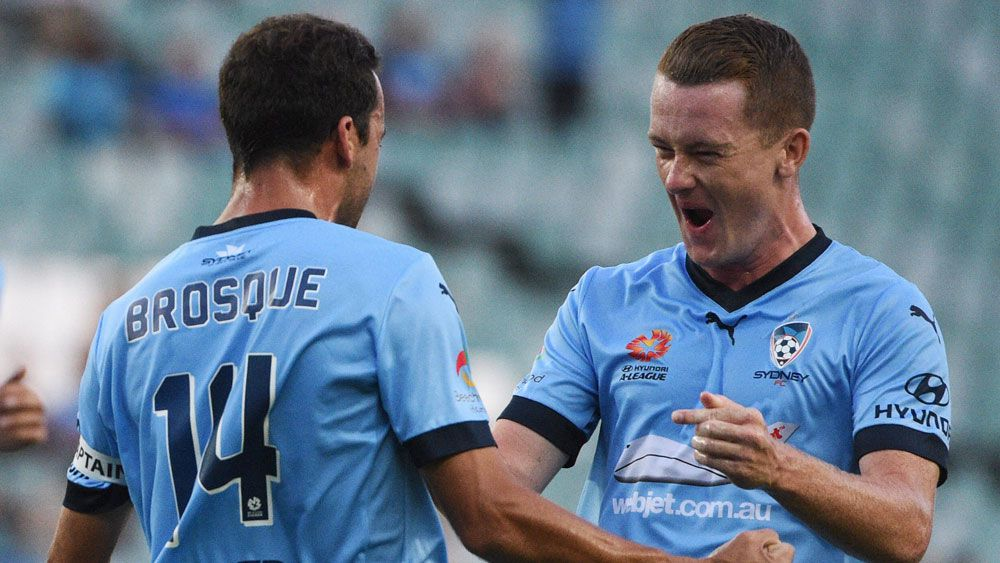 Brosque injured as Sydney FC maul Mariners