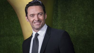 Hugh Jackman poses for photographers upon arrival at the 7th annual AACTA International Awards at the Avalon on Friday, Jan. 5, 2018, in Los Angeles